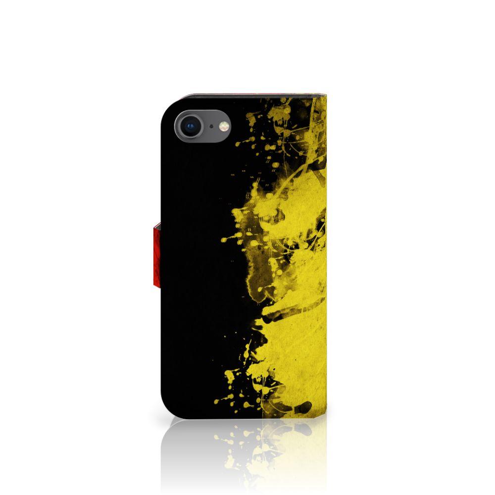 Apple iPhone 7 | 8 Bookstyle Case Belgische Vlag