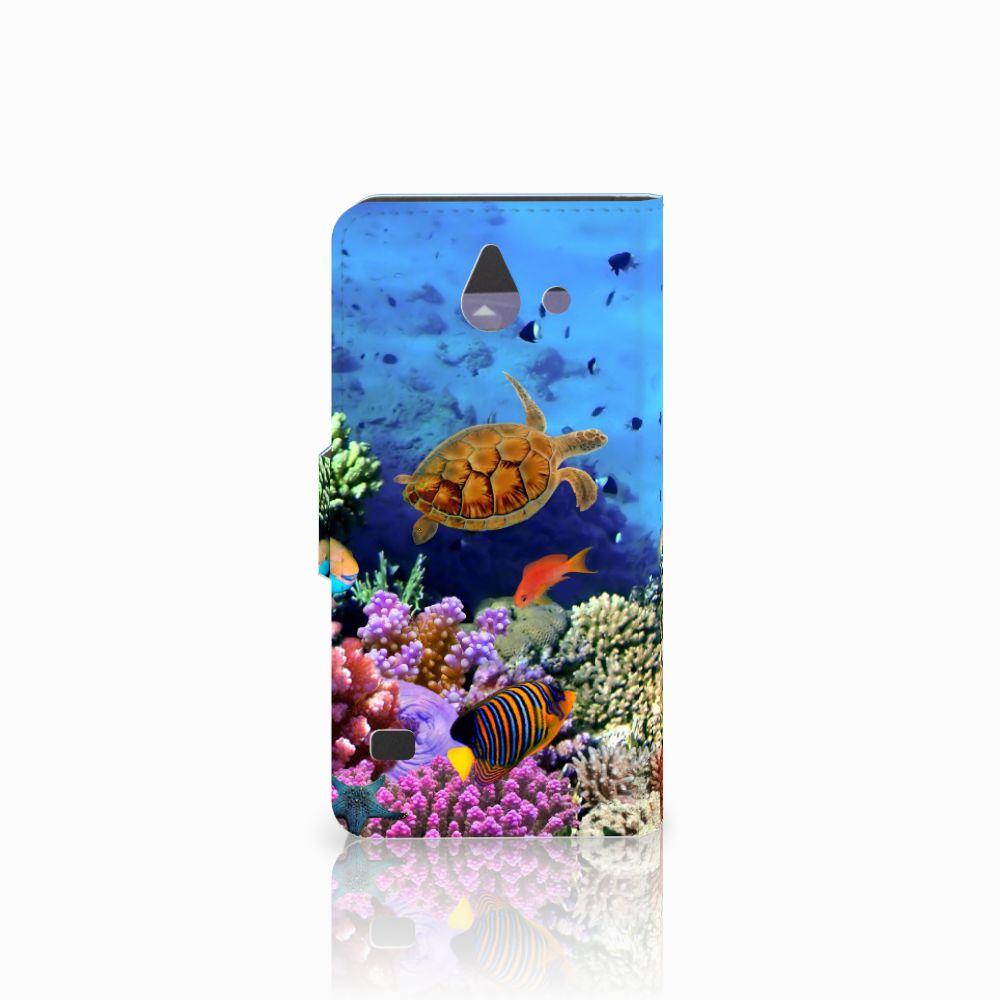 Huawei Ascend Y550 Telefoonhoesje met Pasjes Vissen
