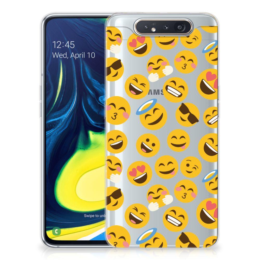 Samsung Galaxy A80 TPU bumper Emoji