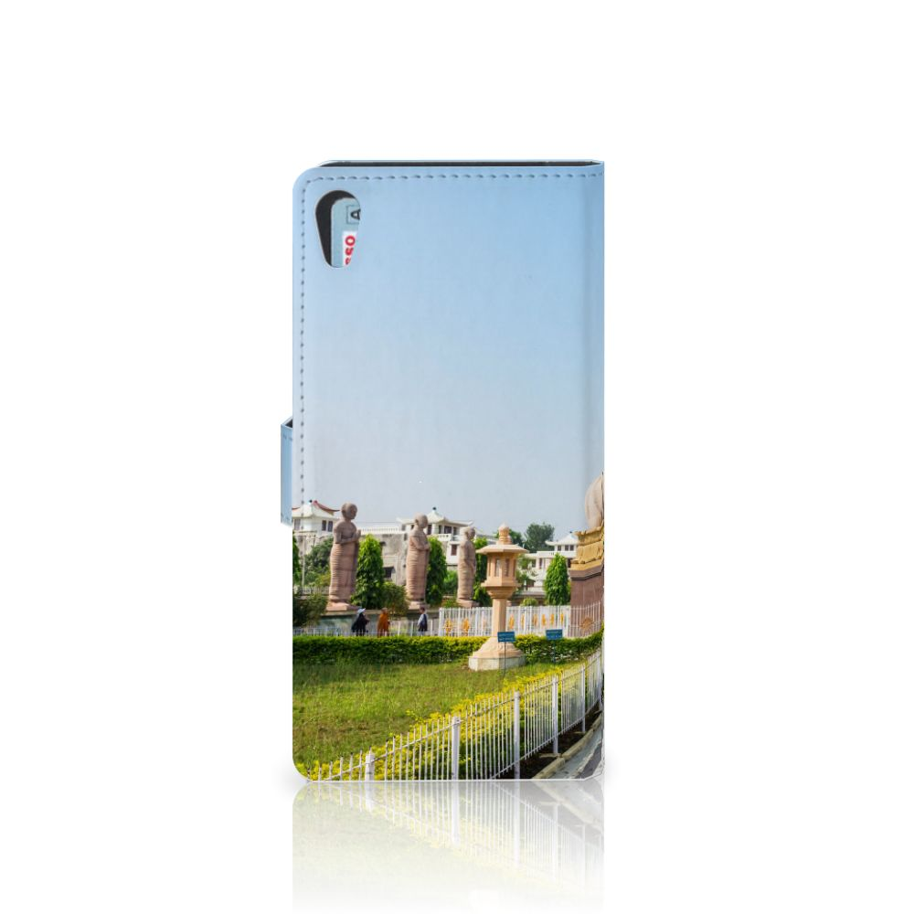 Sony Xperia XA1 Ultra Flip Cover Boeddha