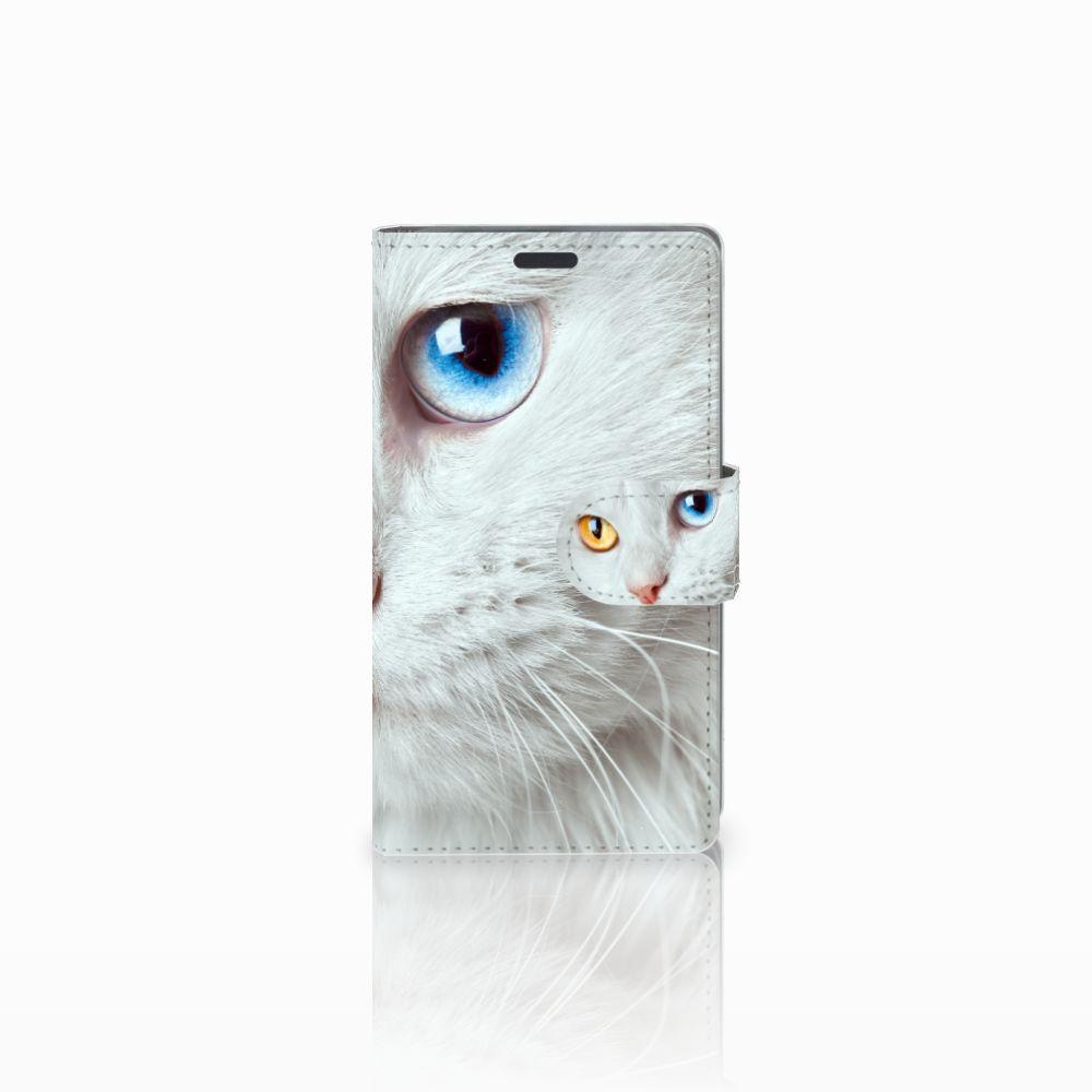 Nokia Lumia 625 Leuk Hoesje Witte Kat