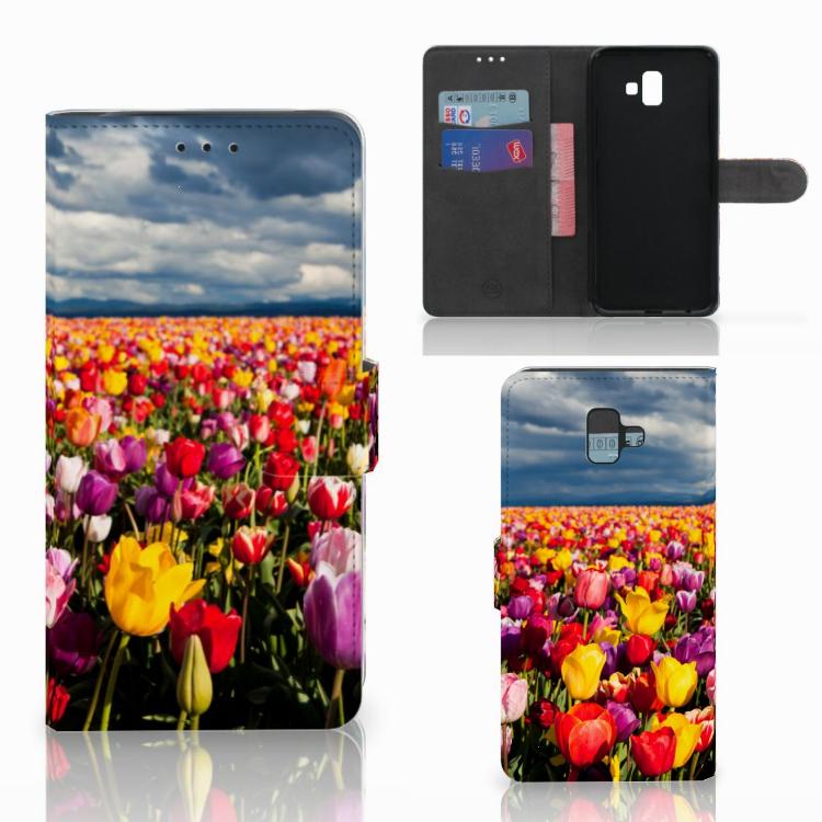 Samsung Galaxy J6 Plus (2018) Hoesje Tulpen