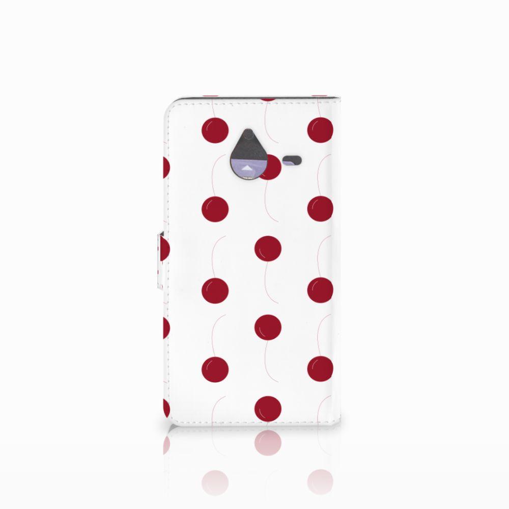 Microsoft Lumia 640 XL Book Cover Cherries