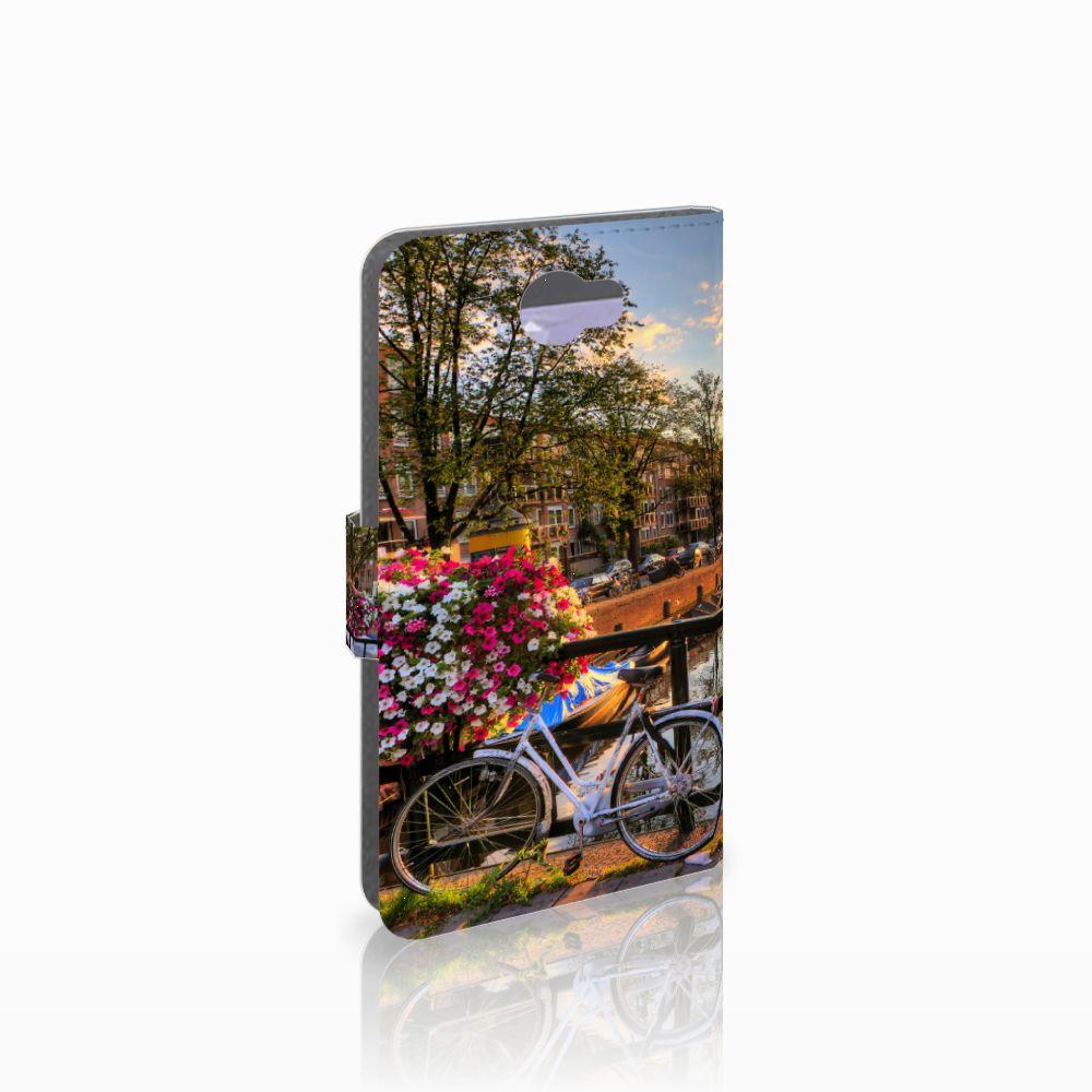 Huawei Y5 2 | Y6 II Compact Flip Cover Amsterdamse Grachten