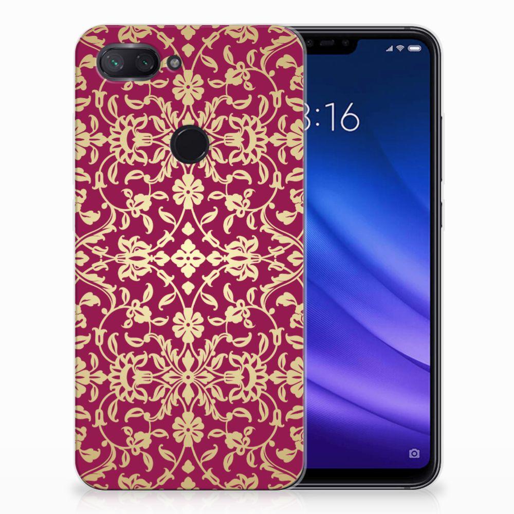 Siliconen Hoesje Xiaomi Mi 8 Lite Barok Pink
