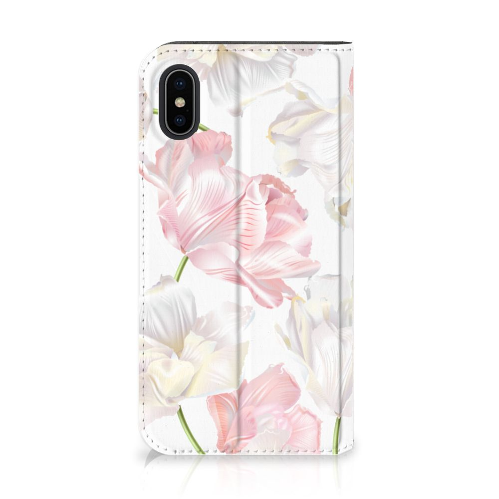 Apple iPhone X | Xs Smart Cover Lovely Flowers