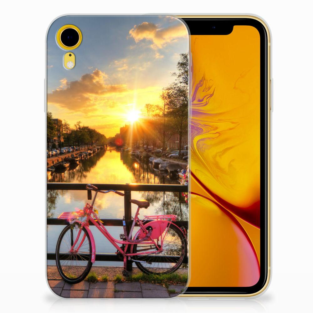 Apple iPhone Xr Uniek TPU Hoesje Amsterdamse Grachten