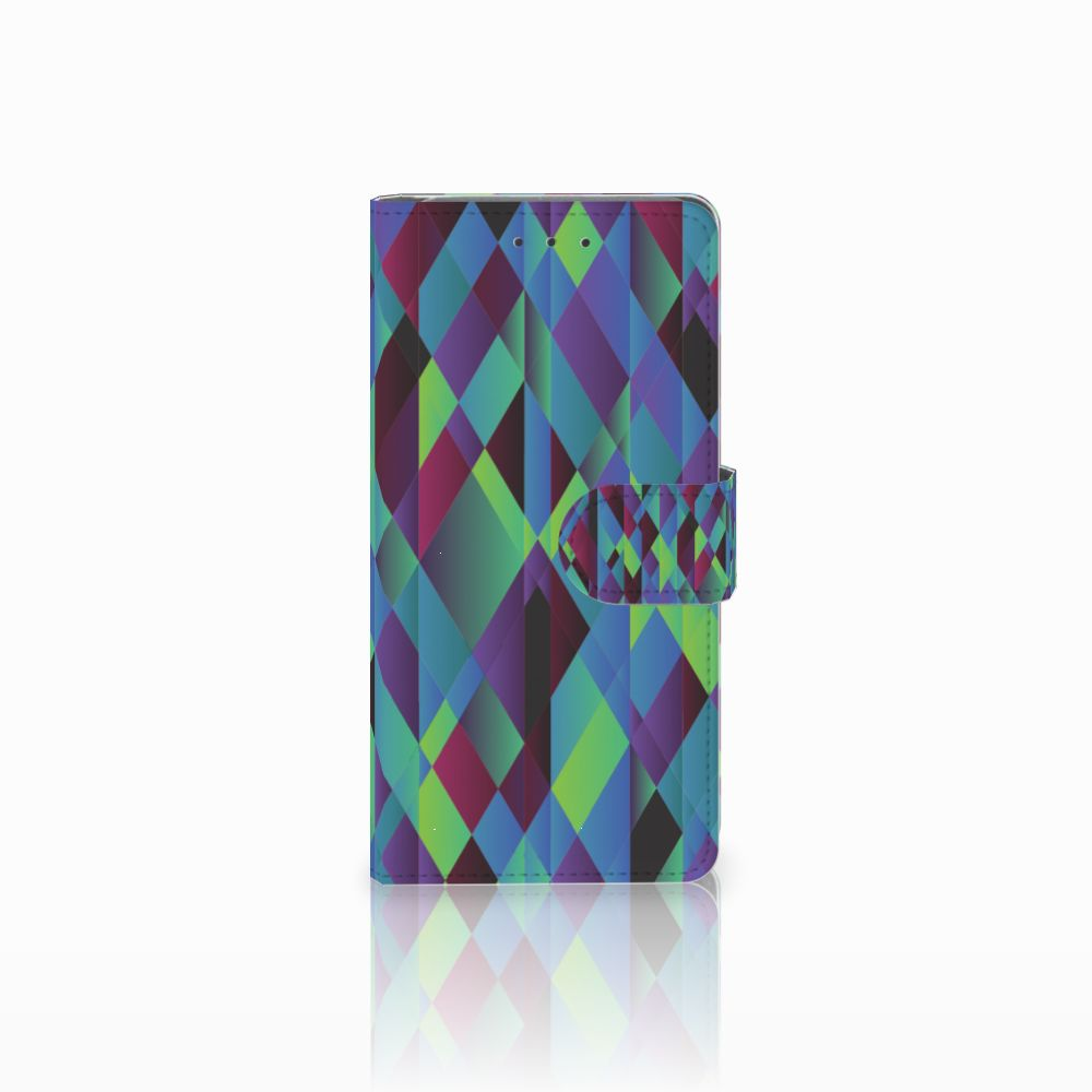 Samsung Galaxy Grand Prime | Grand Prime VE G531F Boekhoesje Design Abstract Green Blue
