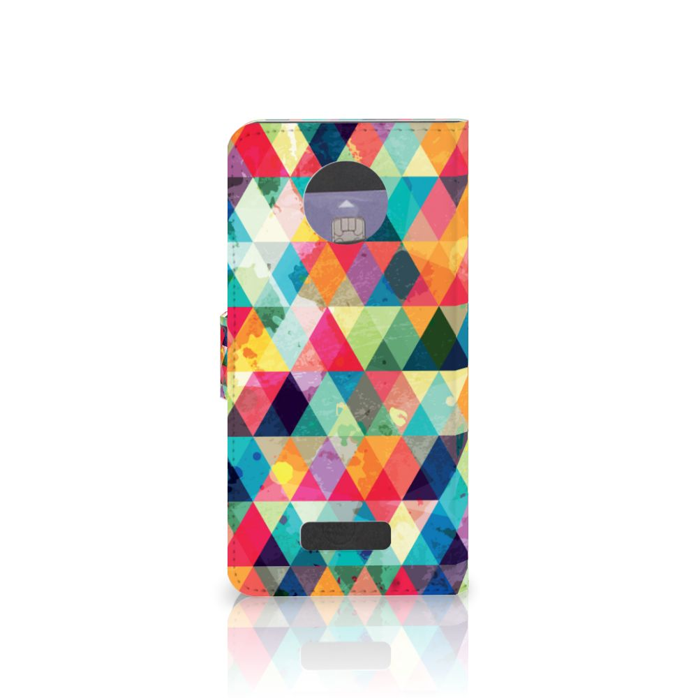 Motorola Moto Z Telefoon Hoesje Geruit