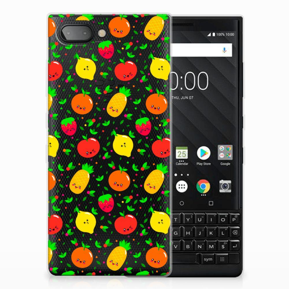 BlackBerry Key2 Siliconen Case Fruits