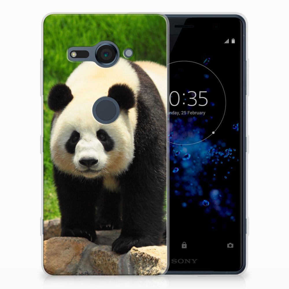 Sony Xperia XZ2 Compact TPU Hoesje Panda