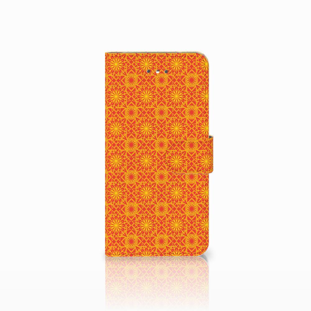 LG Nexus 5X Boekhoesje Design Batik Orange