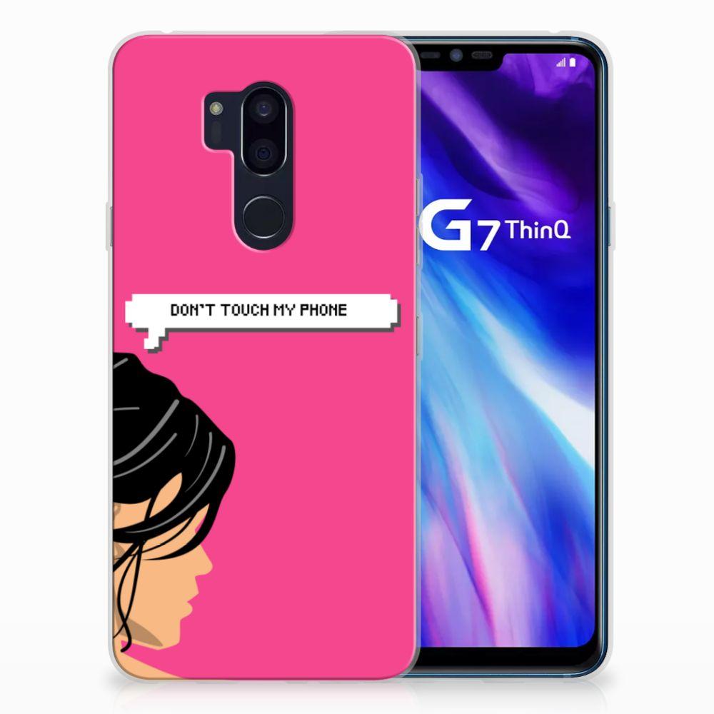 LG G7 Thinq Uniek TPU Hoesje Woman DTMP