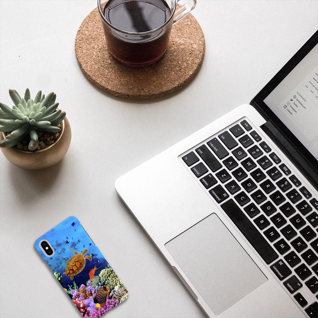 Apple iPhone X | Xs Hardcase Hoesje Design Vissen