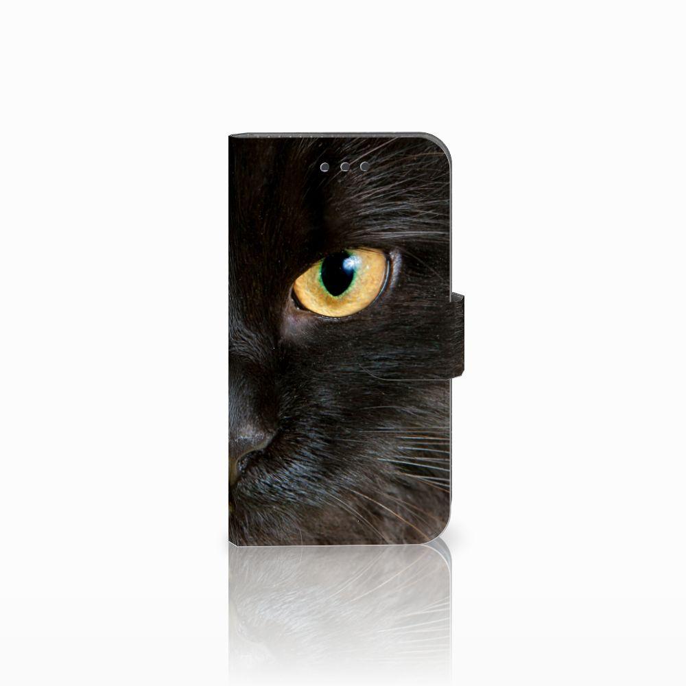 Samsung Galaxy Xcover 3 | Xcover 3 VE Uniek Boekhoesje Zwarte Kat