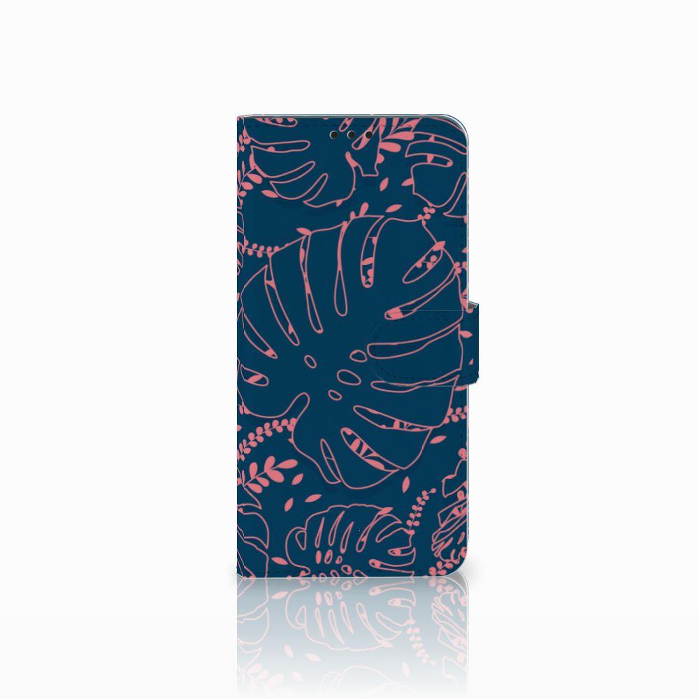 Huawei P Smart Plus Boekhoesje Design Palm Leaves