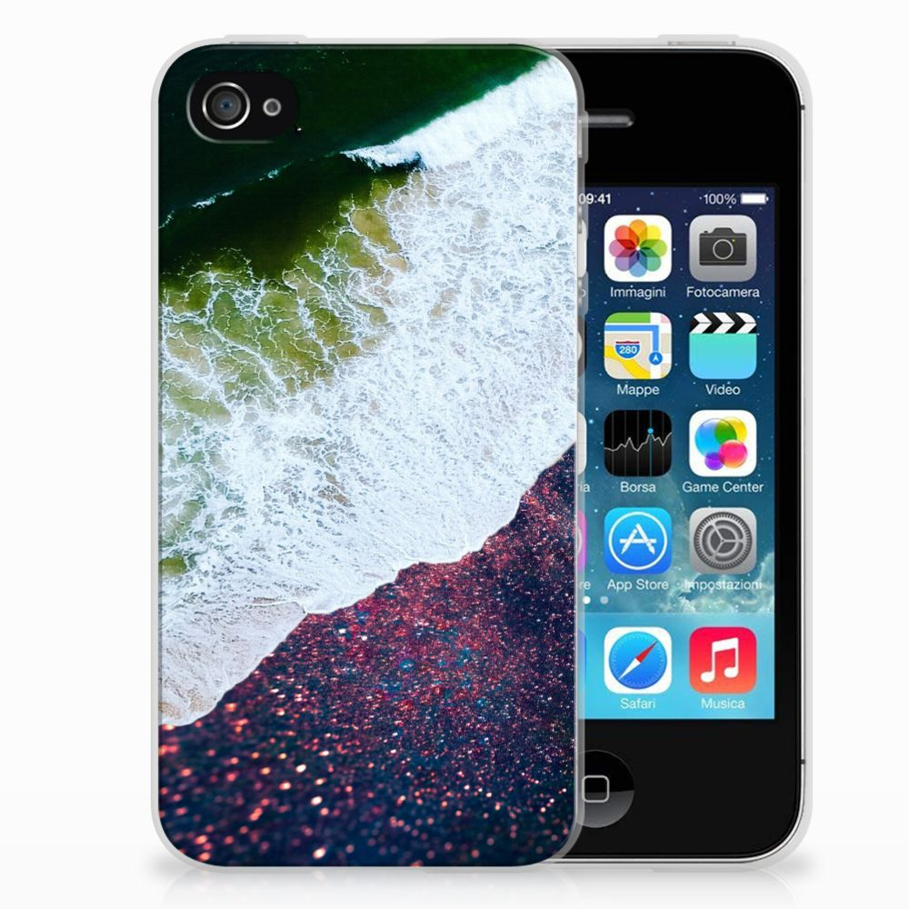 Apple iPhone 4 | 4s TPU Hoesje Design Sea in Space