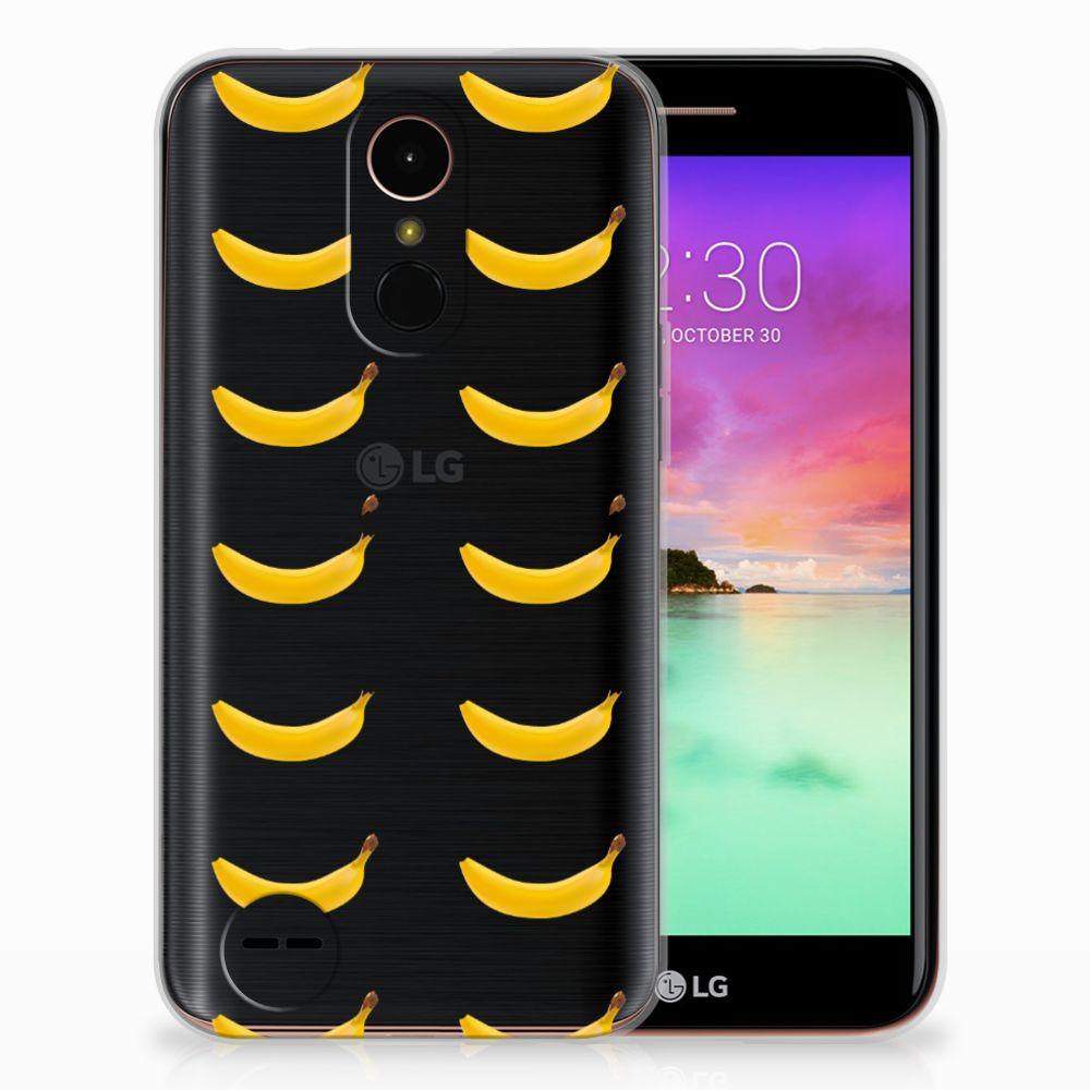 LG K10 2017 Siliconen Case Banana
