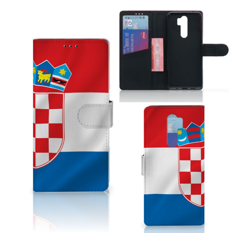 Xiaomi Note 8 Pro Bookstyle Case Kroatië