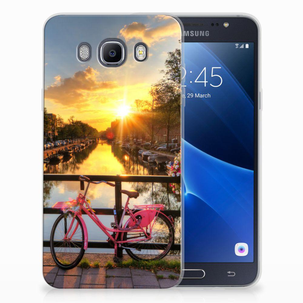 Samsung Galaxy J7 2016 Uniek TPU Hoesje Amsterdamse Grachten