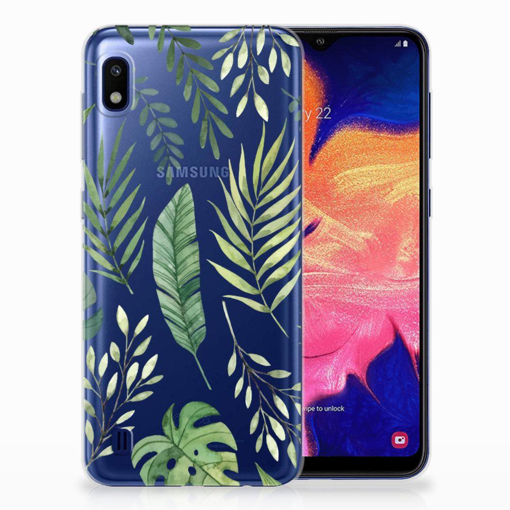 Samsung Galaxy A10 TPU Case Leaves