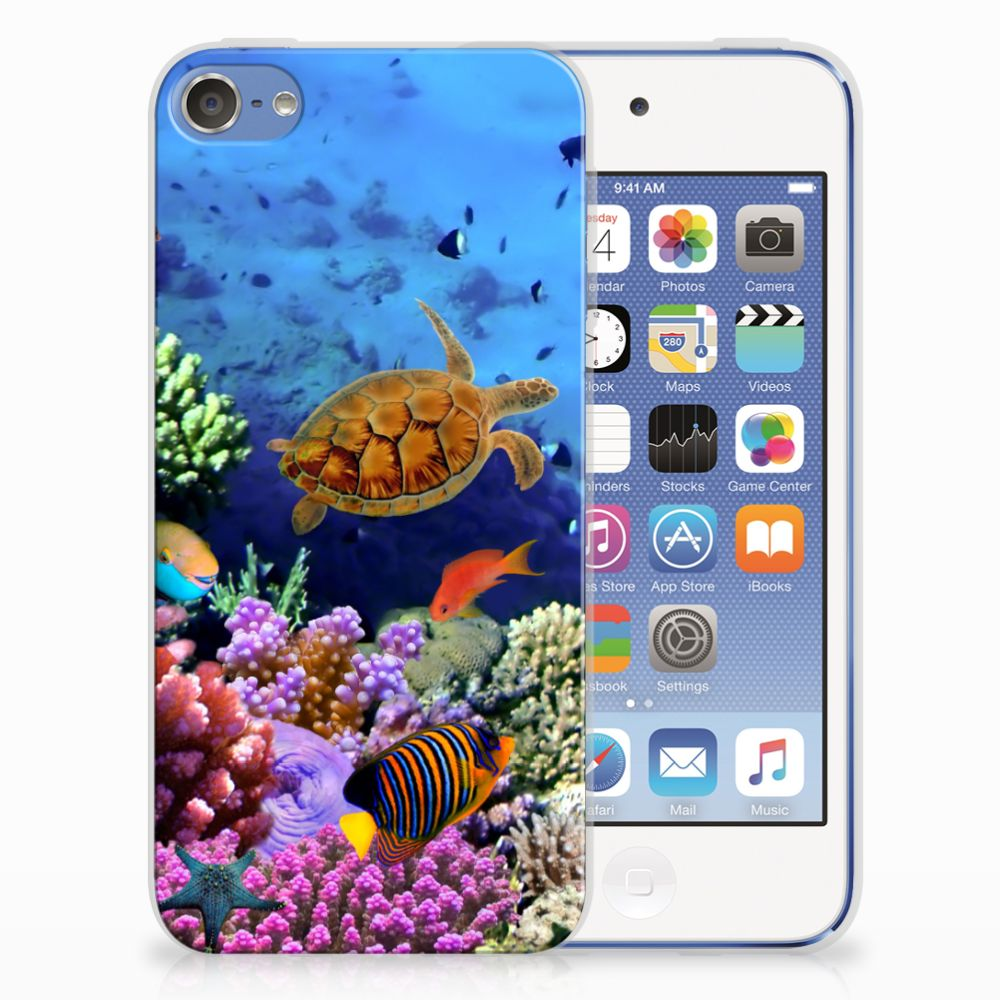 Apple iPod Touch 5 | 6 TPU Hoesje Design Vissen