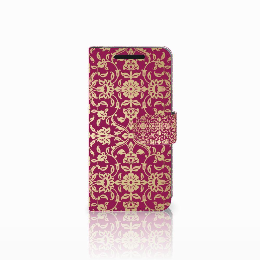 Wallet Case HTC One M9 Barok Pink
