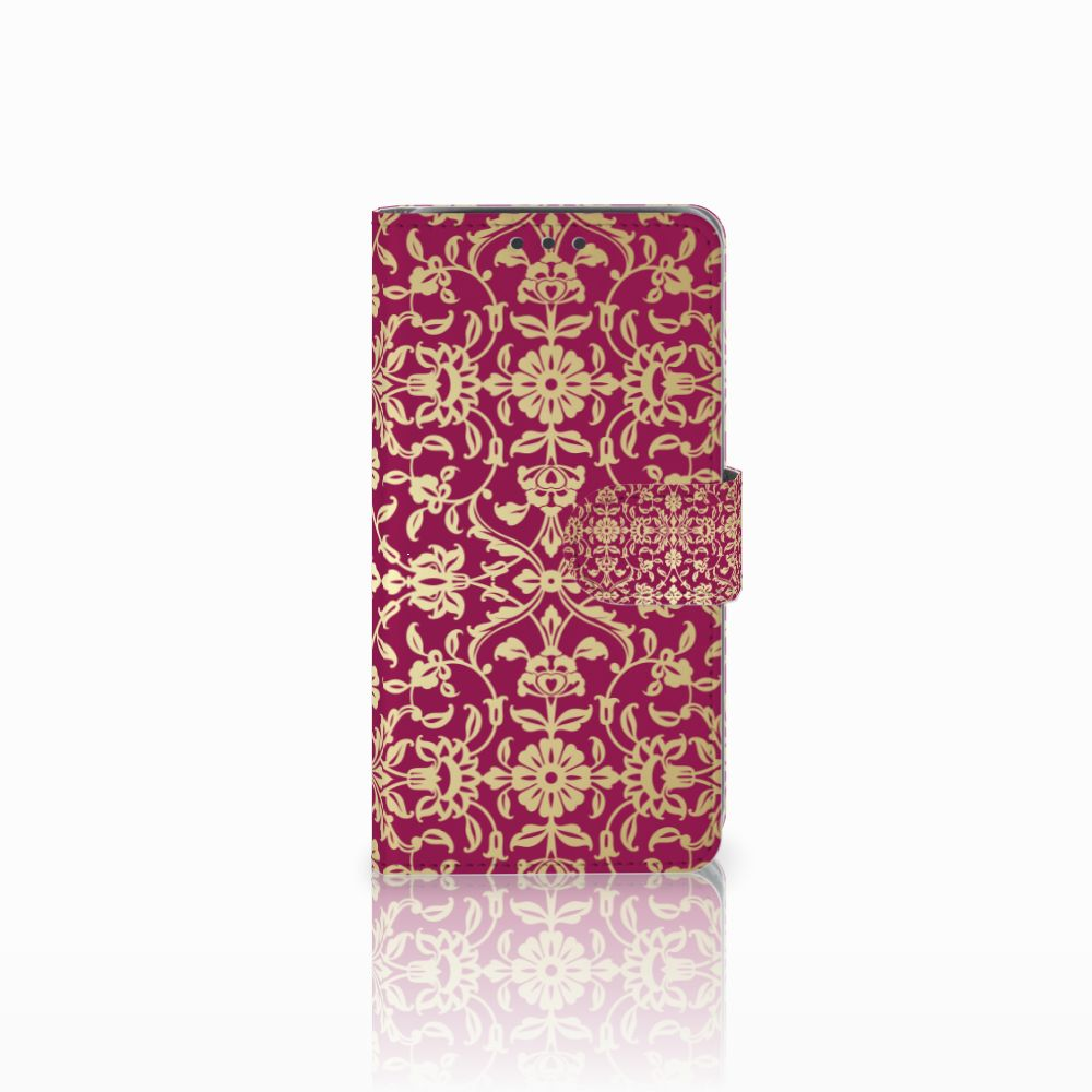 Wallet Case Samsung Galaxy J5 (2015) Barok Pink