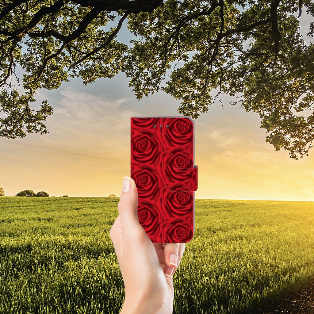 Samsung Galaxy J3 2016 Hoesje Red Roses