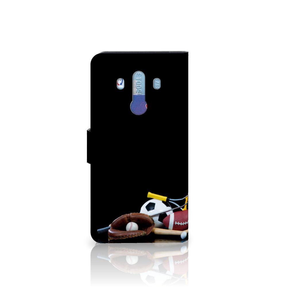 Huawei Mate 10 Pro Wallet Case met Pasjes Sports