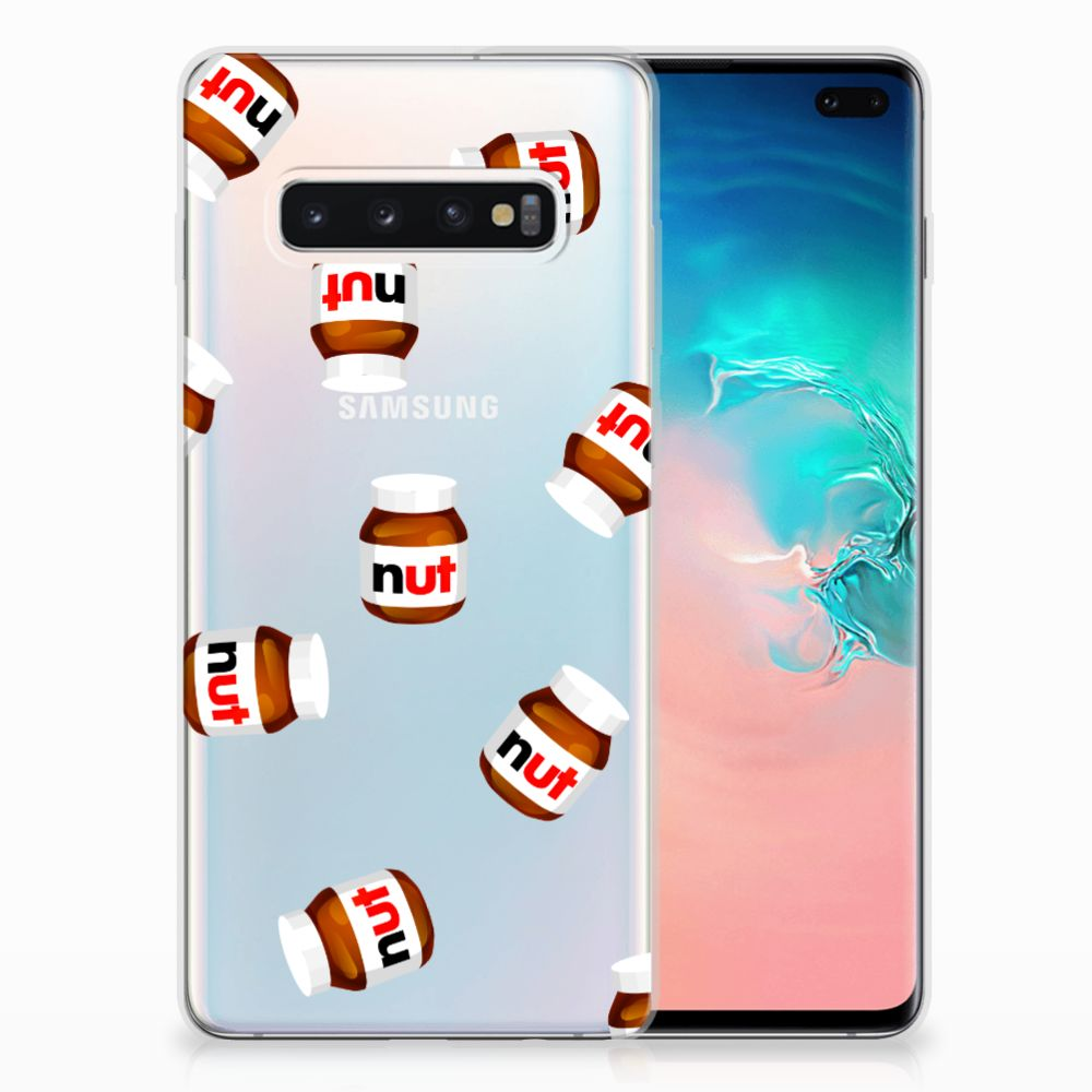 Samsung Galaxy S10 Plus Siliconen Case Nut Jar