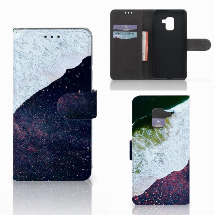 Samsung Galaxy A8 2018 Bookcase Sea in Space