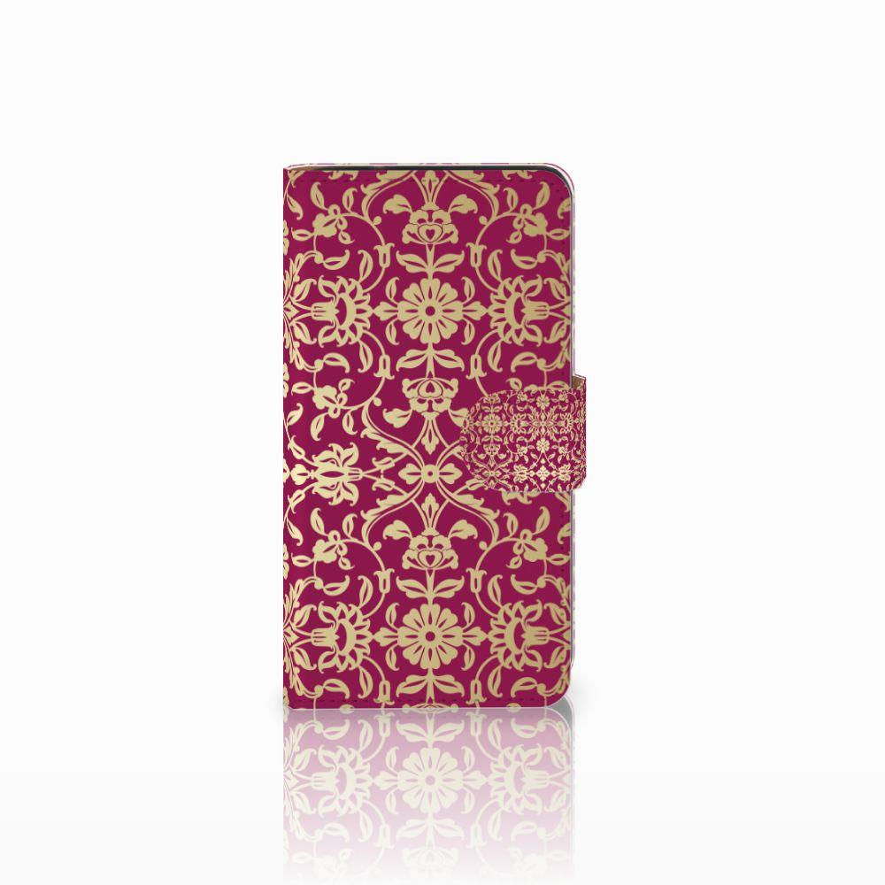Samsung Galaxy J2 (2015) Boekhoesje Design Barok Pink