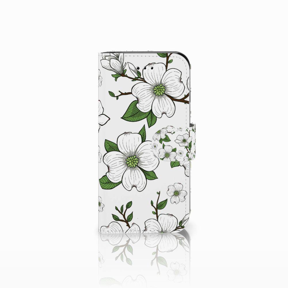 Apple iPhone 6 | 6s Boekhoesje Design Dogwood Flowers