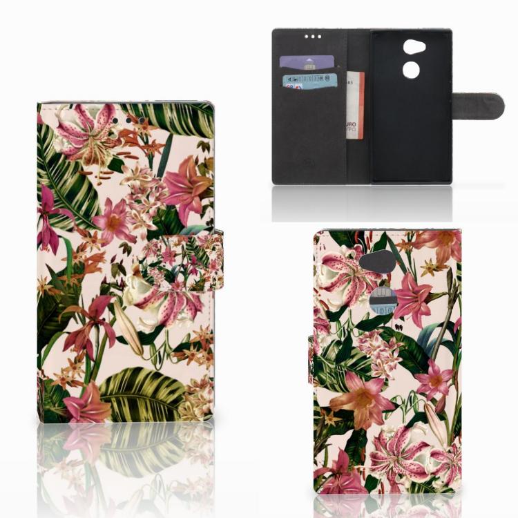 Sony Xperia L2 Hoesje Flowers