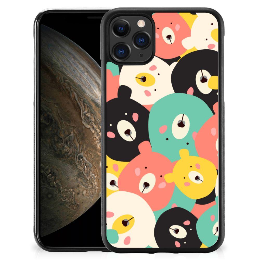 Apple iPhone 11 Pro Bumper Hoesje Bears