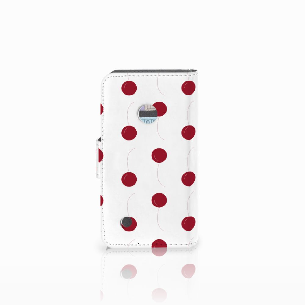 Nokia Lumia 530 Book Cover Cherries
