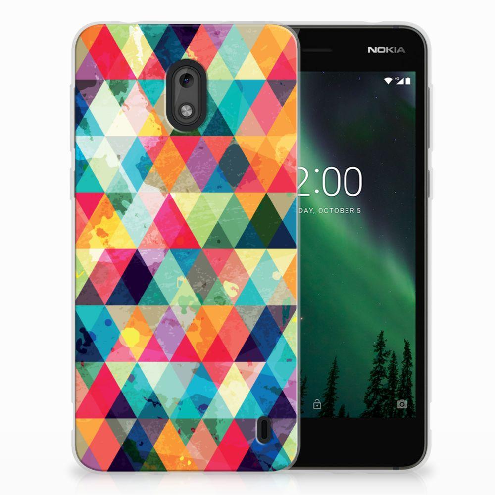 Nokia 2 TPU bumper Geruit