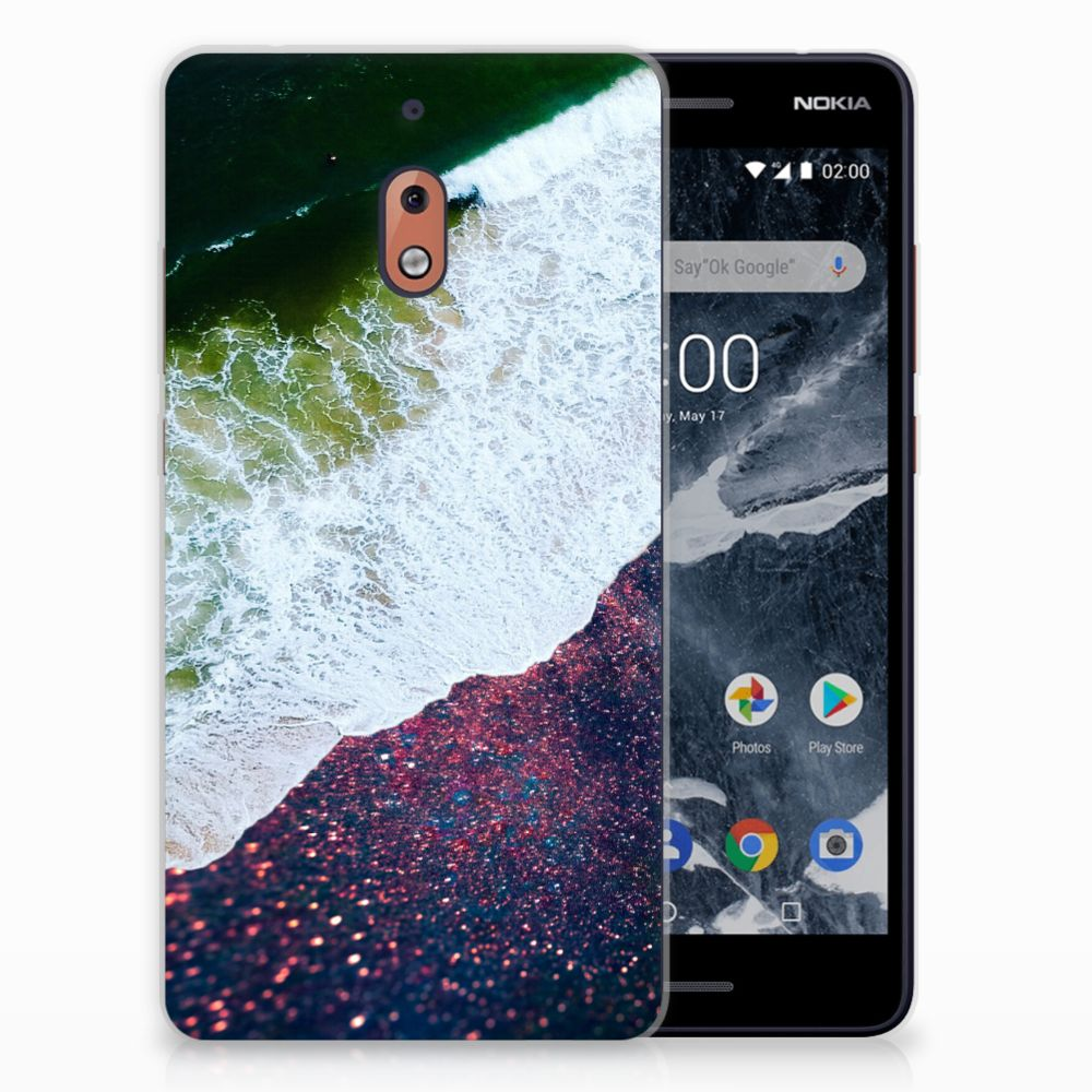 Nokia 2.1 (2018) TPU Hoesje Sea in Space