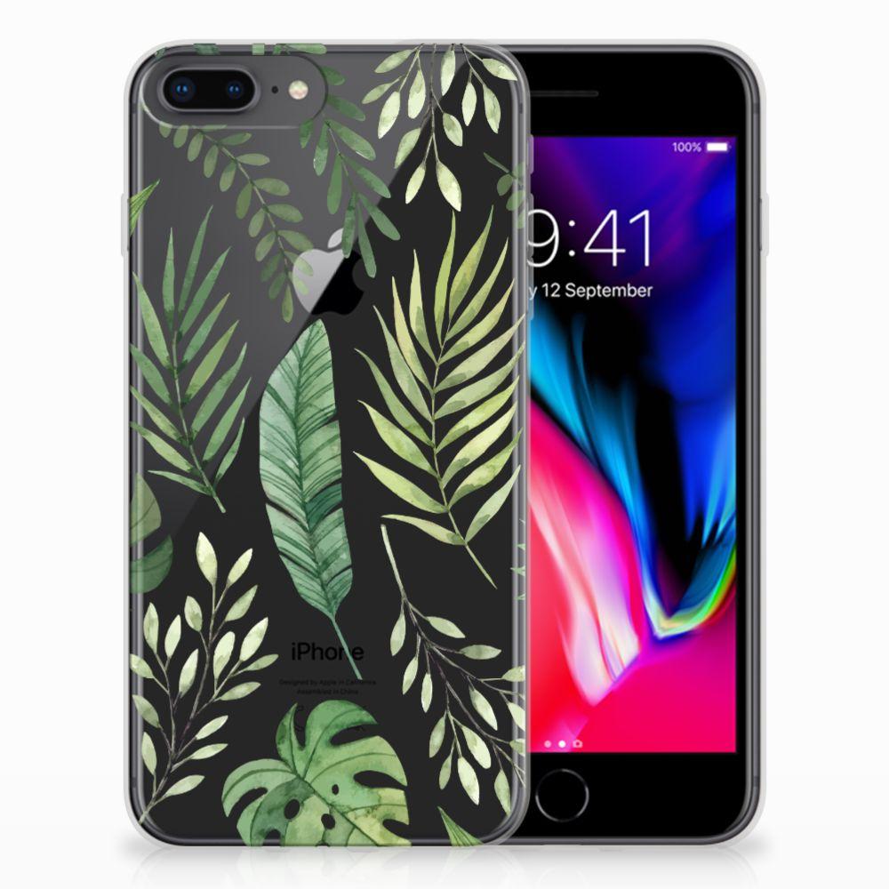 Apple iPhone 7 Plus | 8 Plus TPU Case Leaves