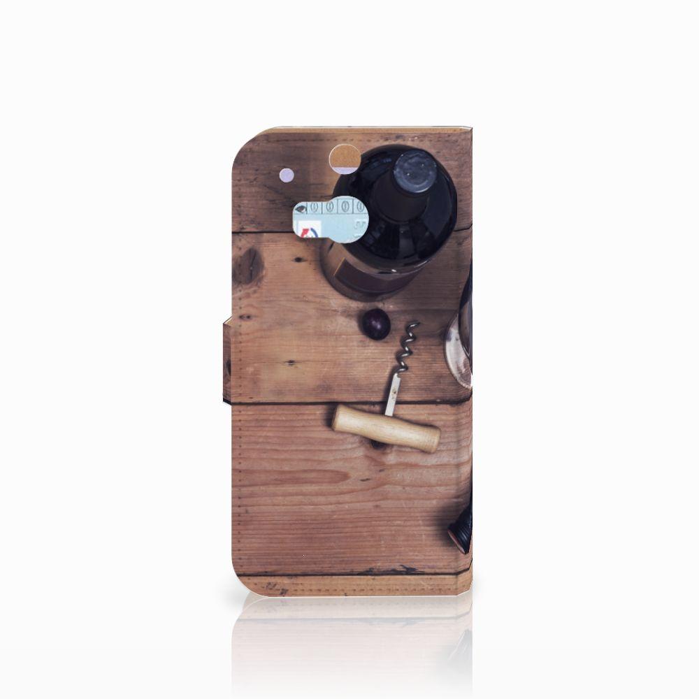 HTC One M8 Book Cover Wijn