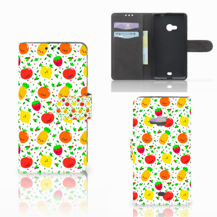 Microsoft Lumia 535 Book Cover Fruits