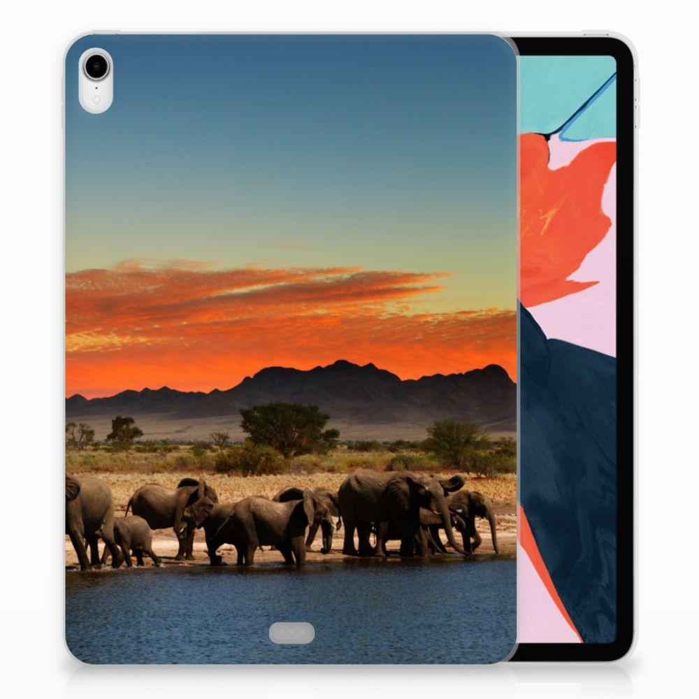 Apple iPad Pro 11 inch (2018) TPU Hoesje Olifanten