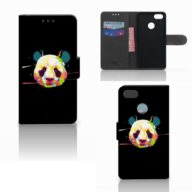 Huawei Y6 Pro 2017 Leuk Hoesje Panda Color