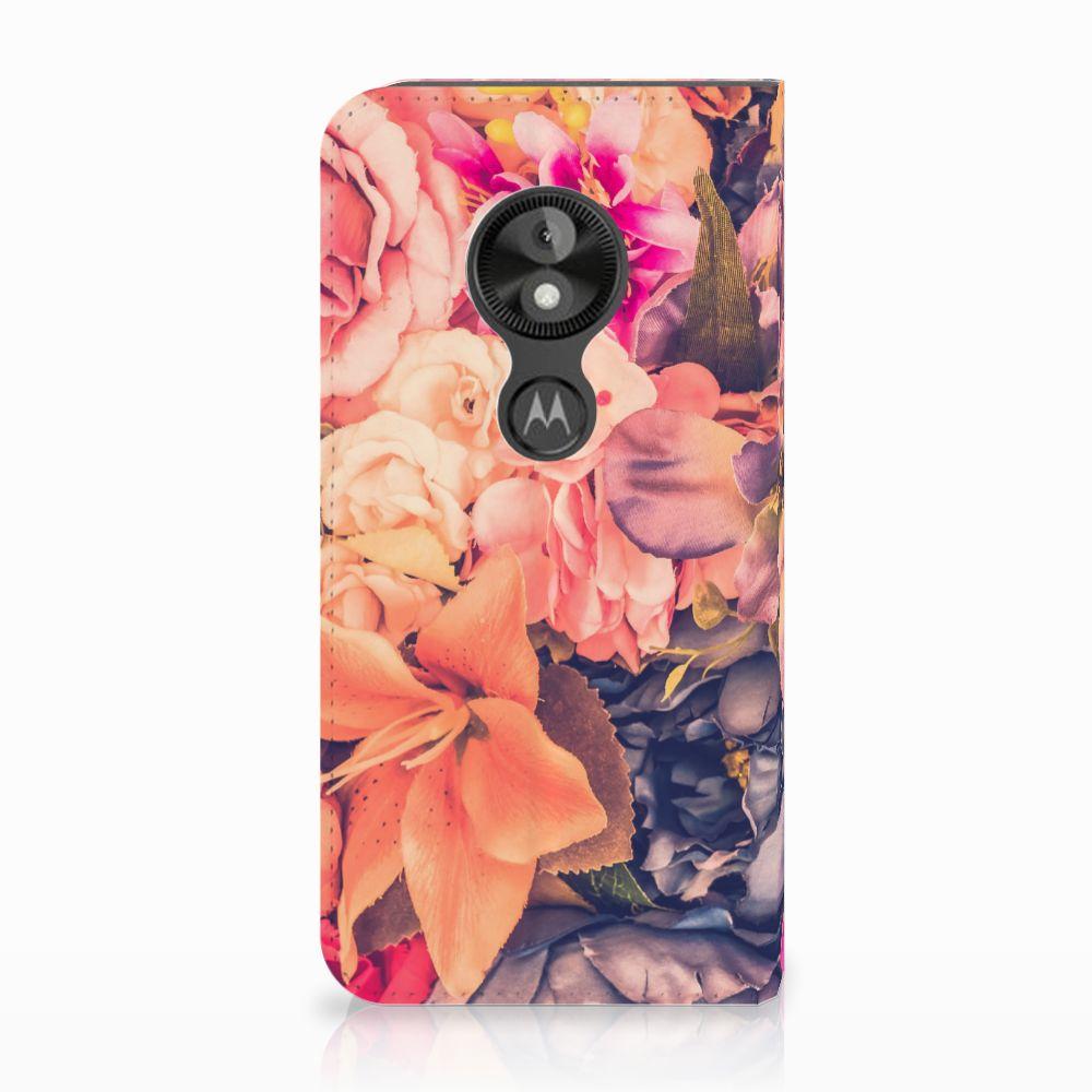 Motorola Moto E5 Play Standcase Hoesje Design Bosje Bloemen