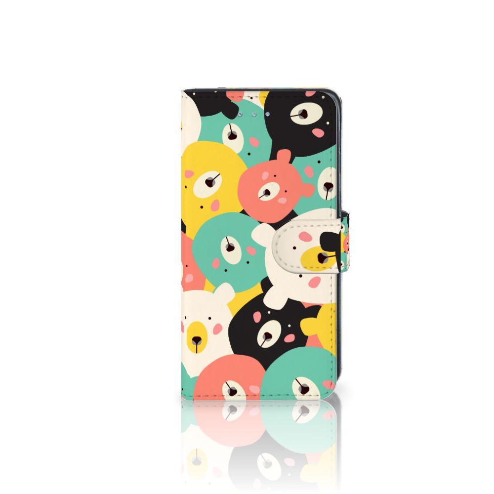 Samsung Galaxy J3 2016 Uniek Boekhoesje Bears