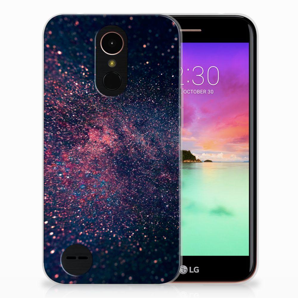 LG K10 2017 TPU Hoesje Stars