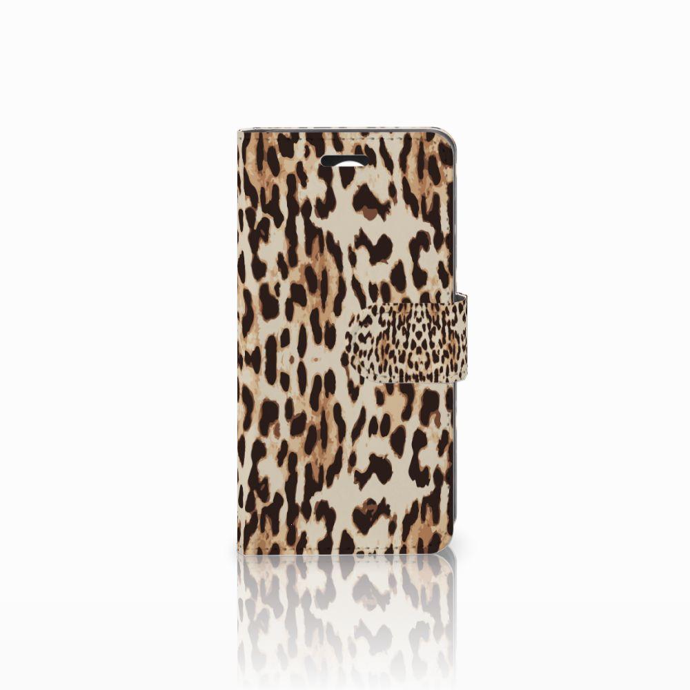 Huawei Y3 2 | Y3 II Uniek Boekhoesje Leopard
