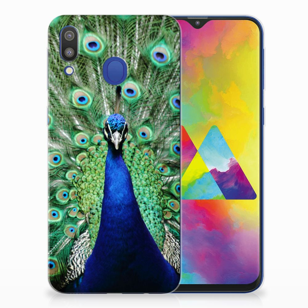 Samsung Galaxy M20 (Power) TPU Hoesje Pauw
