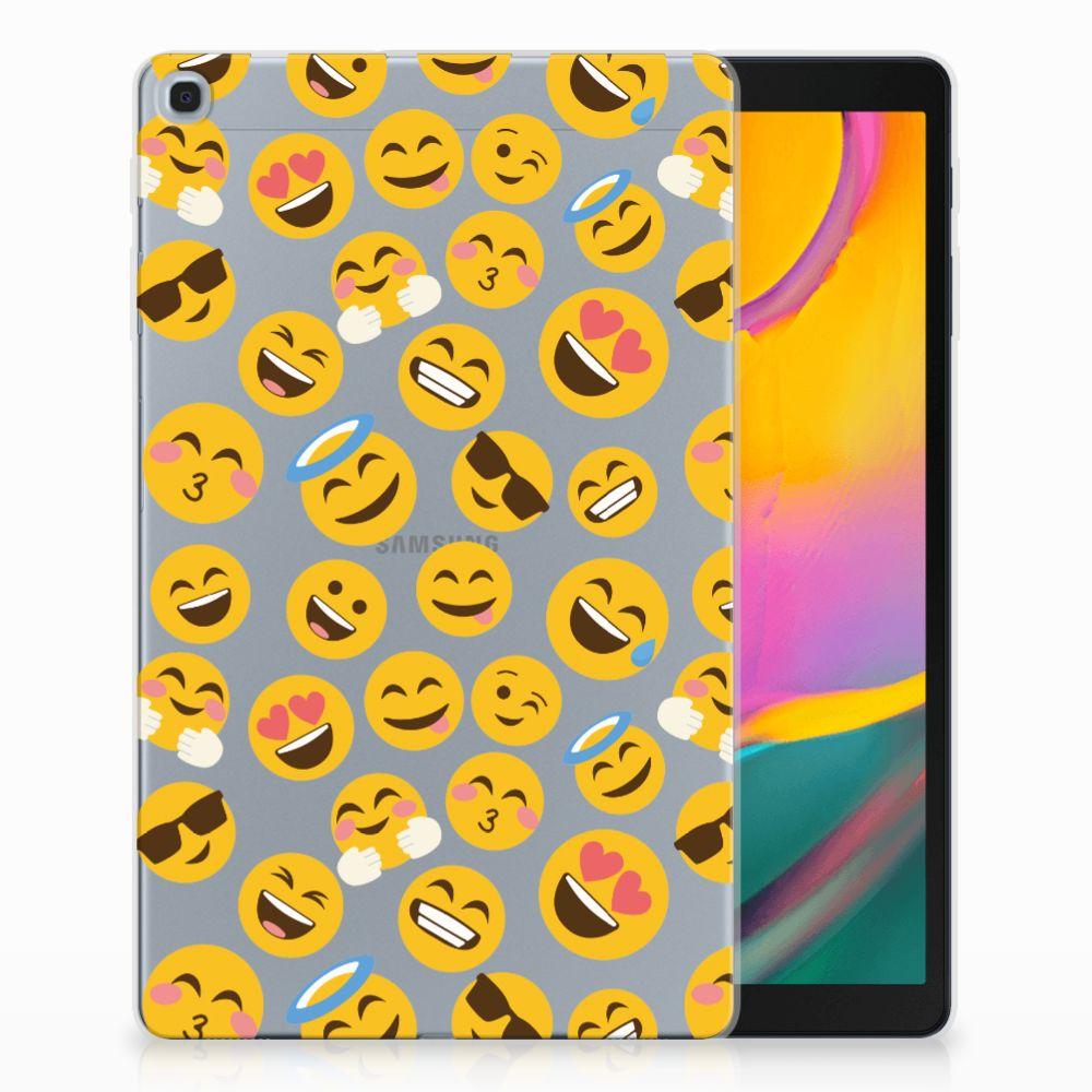 Samsung Galaxy Tab A 10.1 (2019) Hippe Hoes Emoji